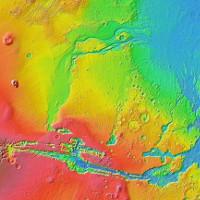 Siêu sóng thần cao 50m có thể từng càn quét sao Hỏa