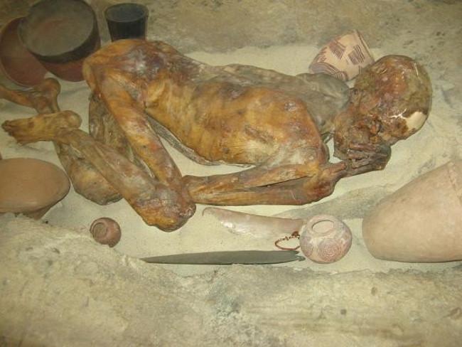 Xác ướp Ginger, Ai Cập