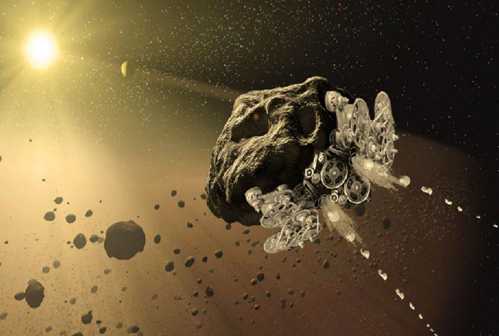 Biến tiểu hành tinh thành tàu bay