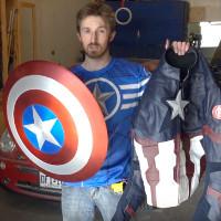 Video: Bí quyết chế tạo chiếc khiên của Captain America