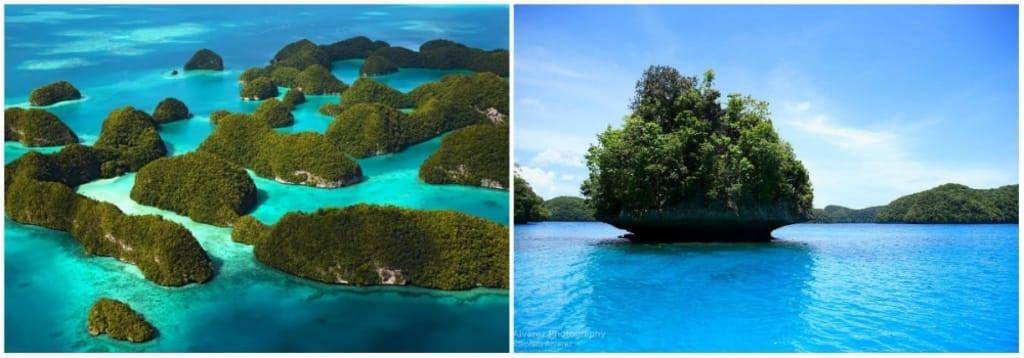 Quần đảo này nằm giữa Koror và Peleliu và là di sản thế giới của UNESCO từ năm 2012