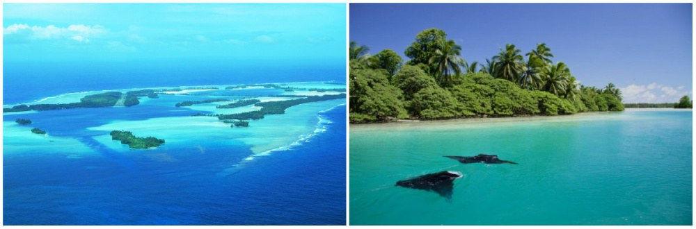 Đảo này nằm ở vùng xích đạo Thái Bình Dương, phía nam của Hawaii