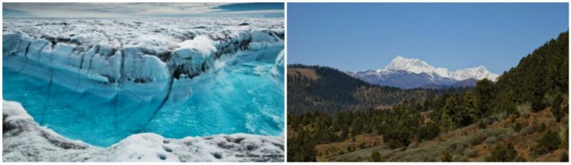 Núi này nằm trong một vùng lãnh thổ tranh chấp giữa Bhutan và Trung Quốc.