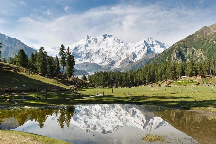 Nanga Parbat (chiều cao: 8.125m)