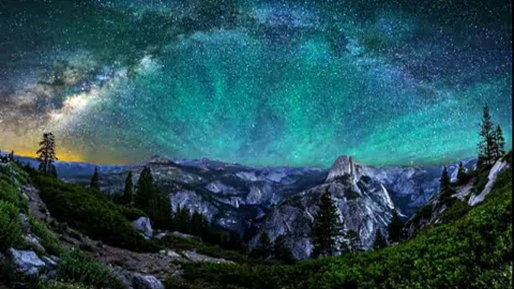 Bầu trời đầy sao trên công viên quốc gia Yosemite