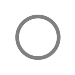 Giặt Khô: Biểu tượng giặt khô sử dụng một vòng tròn.