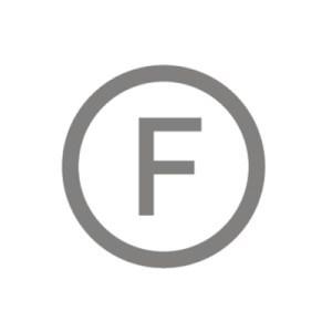 """Giặt Khô Thường: Những quần áo mà bạn nên giặt khô trong điều kiện thường sẽ có ký hiệu """"F"""" bên trong một vòng tròn."""