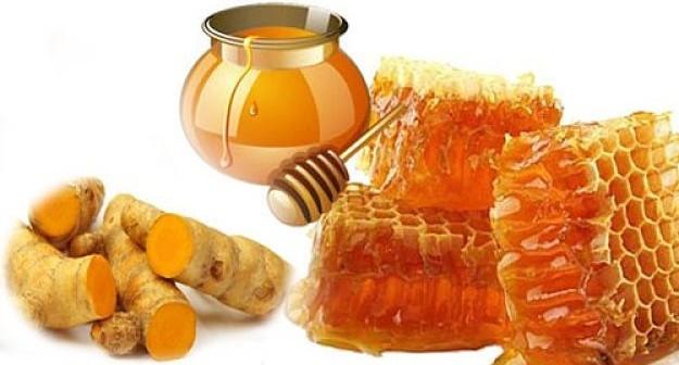 Mật ong và nghệ giúp chữa đau dạ dày