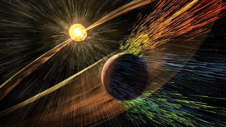 Sao Hỏa từng có một bầu khí quyển dày đặc.
