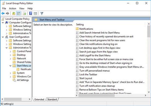 Group Policy Editor giúp thiết lập các chính sách trên Windows
