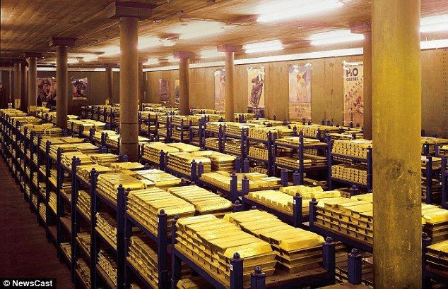 Đây là kho dự trữ vàng bí mật, kiên cố và an toàn nhất thế giới.