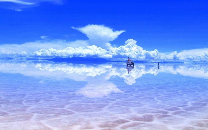 Sa mạc muối lớn nhất thế giới - Salar de Uyuni, Bolivia