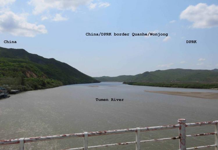 Đây là nơi tiếp giáp giữa 3 quốc gia gồm Triều Tiên, Nga và Trung Quốc.