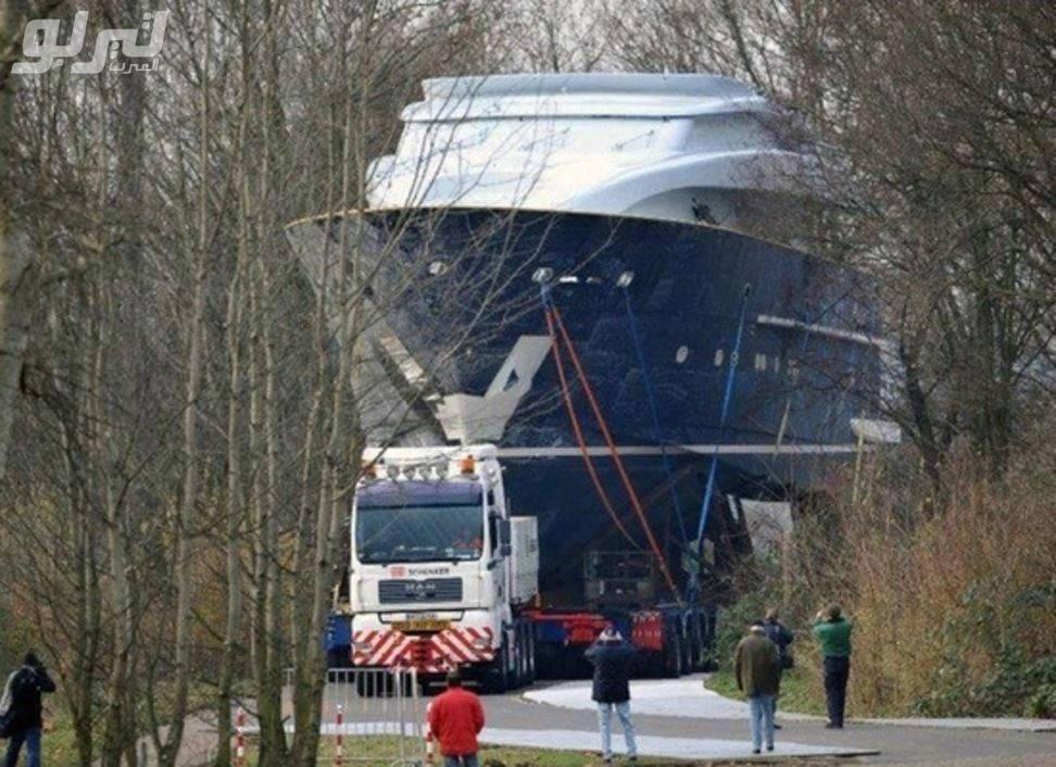 Vận chuyển tàu trên cạn luôn
