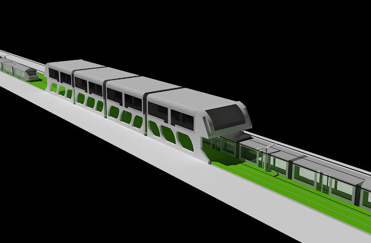 Một phiên bản mẫu với đầy đủ chức năng như thiết kế đang được xây dựng tại Thường Châu.