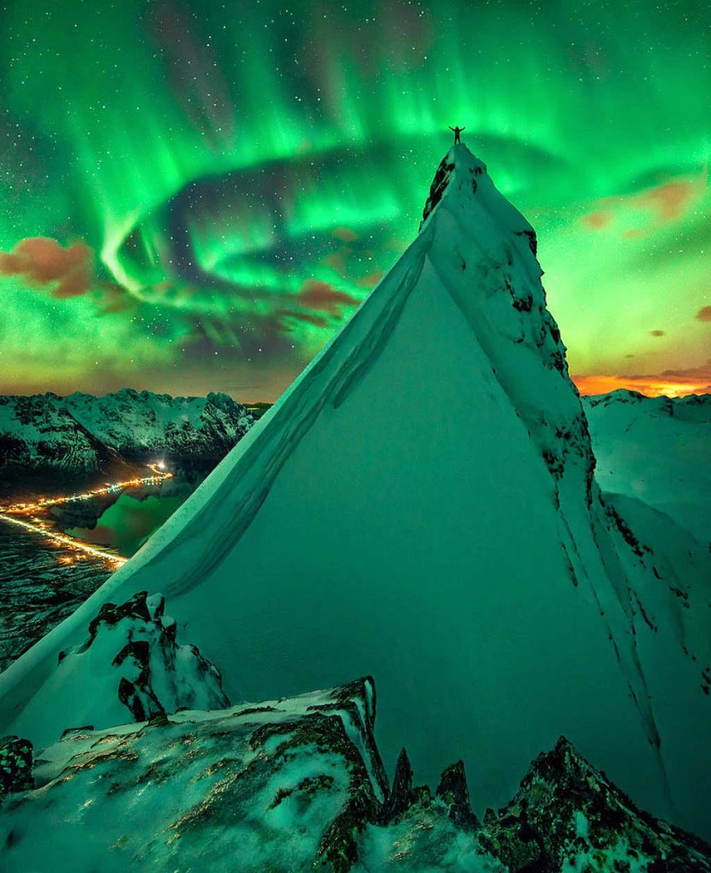 Hiện tượng cực quang ở Na Uy.