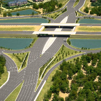 Thiết kế giao lộ đầy cách mạng như thế này sẽ giúp loại bỏ tai nạn trên cao tốc