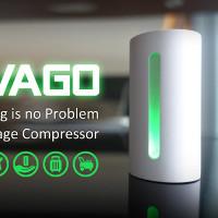 Vago - Máy hút chân không nhỏ gọn, giúp tiết kiệm không gian hành lý