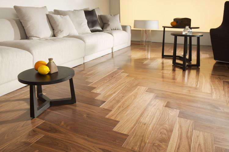 Sàn gỗ công nghiệp.