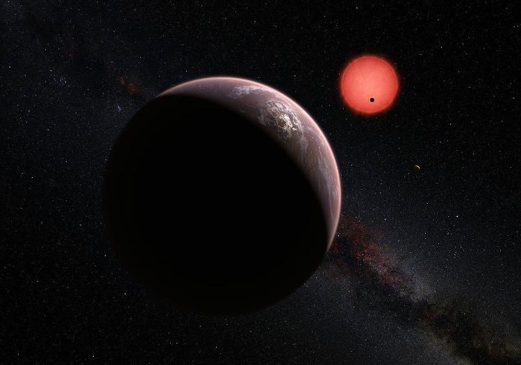 Đây là một ngôi sao lùn nâu cách chúng tao 40 năm ánh sáng.