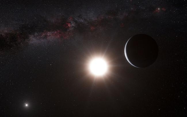 Alpha Centauri là một hệ thống gồm 3 ngôi sao chỉ cách chúng ta 4 năm ánh sáng.