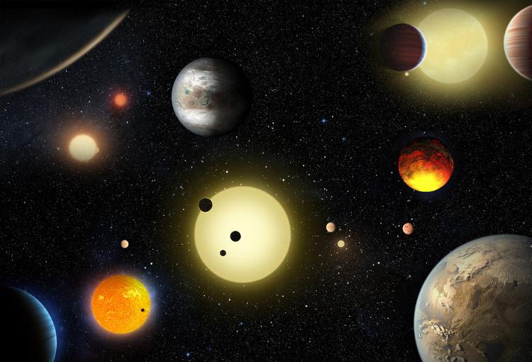 Mọi ngôi sao trong mỗi thiên hà sẽ có ít nhất một hành tinh quay xung quanh nó.
