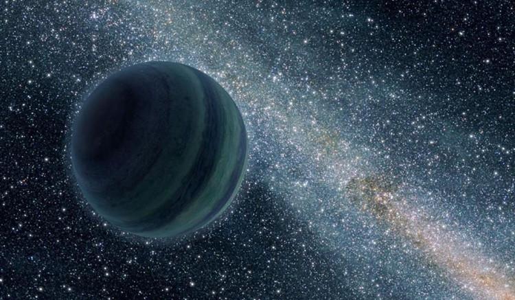 Minh họa hành tinh mồ côi của NASA.