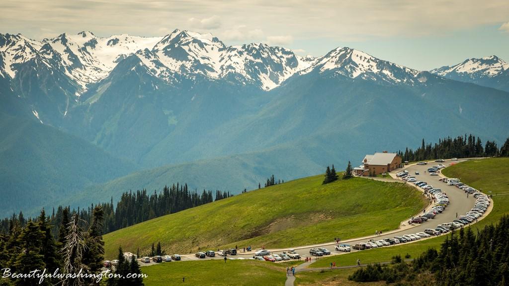 Đường bán đảo Olympic, Washington