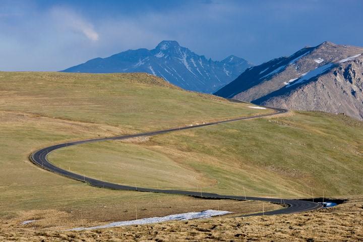 Đường Trail Ridge, Colorado