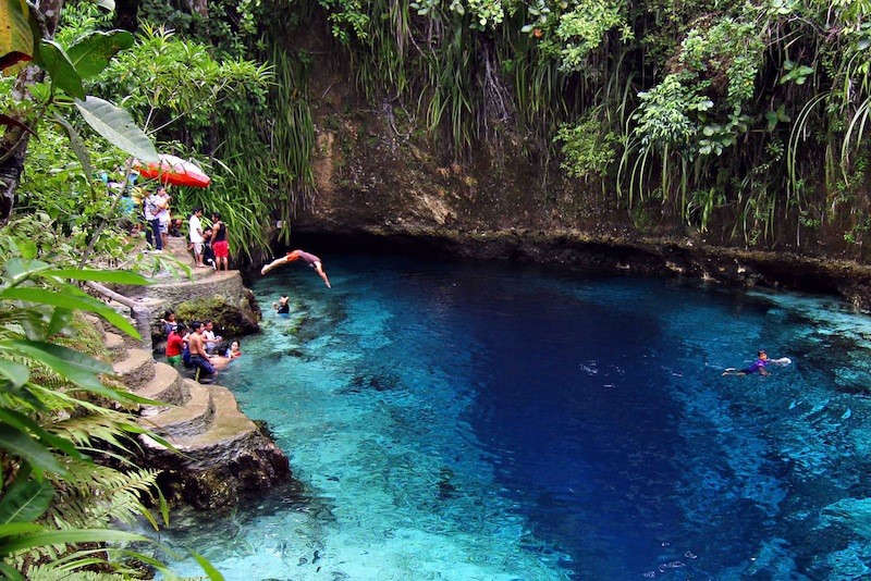Sông thần Hinatuan, Surigao del Sur, Philippines