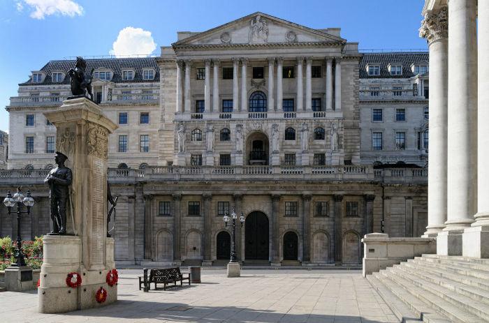 Hầm trữ vàng của Ngân hàng Anh.