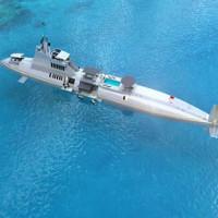 Siêu du thuyền có thể lặn sâu 240 m giá 2,3 tỉ USD
