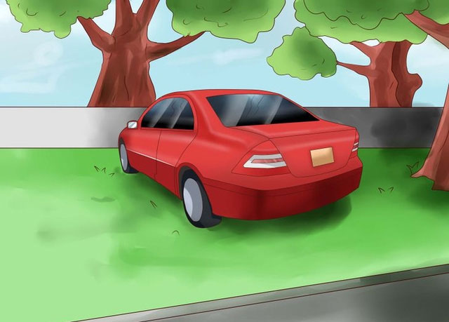Hãy đỗ xe ở nơi có bóng râm.