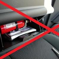 Những đồ vật trong ô tô dễ bị phát nổ khi trời nắng và cách xử lý