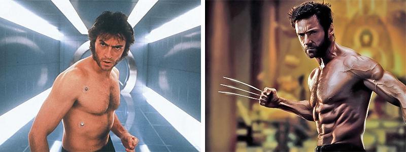 Wolverine thật sự khác biệt giữa hai phiên bản 2000 và 2013.