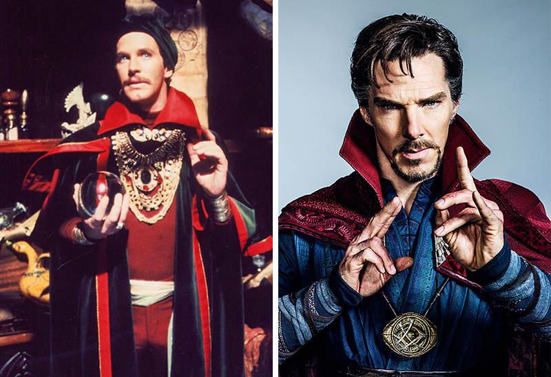 Doctor Strange phiên bản năm 1978 và 2016.