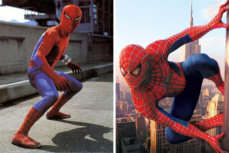 Bạn thích chàng Spiderman (Người nhện) của năm 1978 hay 2002?
