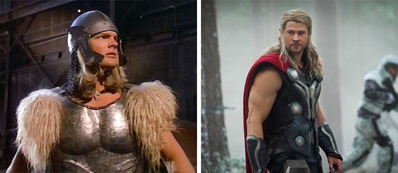 Ngoại hình của Thor vào năm 1978 và 2013. Ai ấn tượng hơn ai?