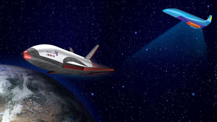 """Nguyên mẫu RVL-TD nặng 1,75 tấn ban đầu không được hi vọng sẽ """"sống sót"""" sau khi bay thử nghiệm."""