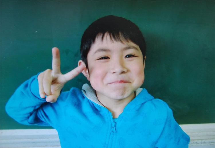 Bé trai YamatoTanooka được tìm thấy trong tình trạng khỏe mạnh.