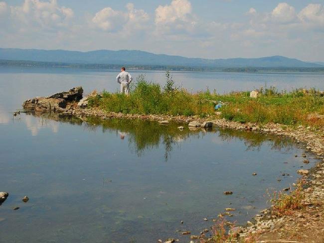 Hồ bị nhiễm phóng xạ.