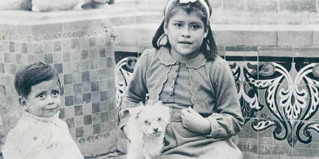 Lina và cậu con trai Gerado.