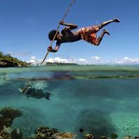 Những hình ảnh tuyệt đẹp chụp giữa hai thế giới