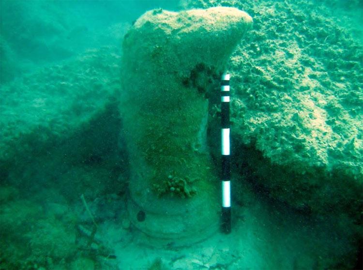 Các hình thái này sẽ lộ ra dưới đáy biển khi trầm tích xung quanh bị xói mòn.