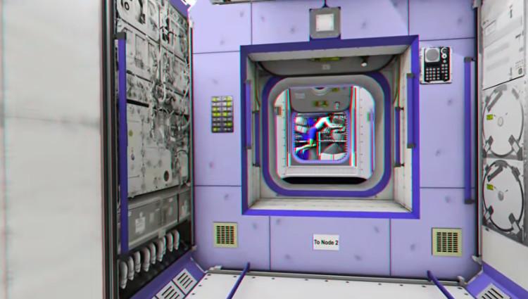 Đoạn video sẽ lại dắt bạn đi trở vào với các thao tác y hệt như các phi hành gia phải làm vậy.