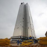 Công nghệ xây dựng độc đáo giúp hoàn thành tòa nhà 57 tầng trong 19 ngày