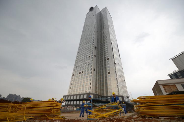 Tòa nhà này có tên gọi Mini Sky City.
