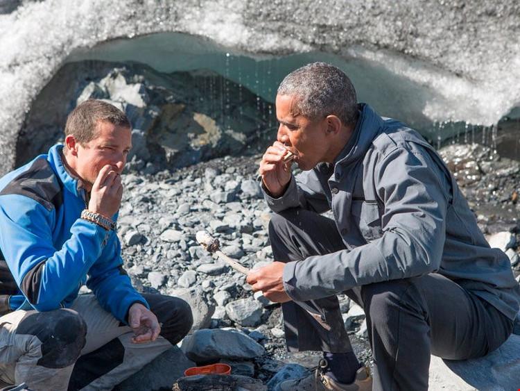 Chuyến đi của Tổng thống Obama nằm trong chương trình Running Wild with Bear Grylls của kênh Discovery.
