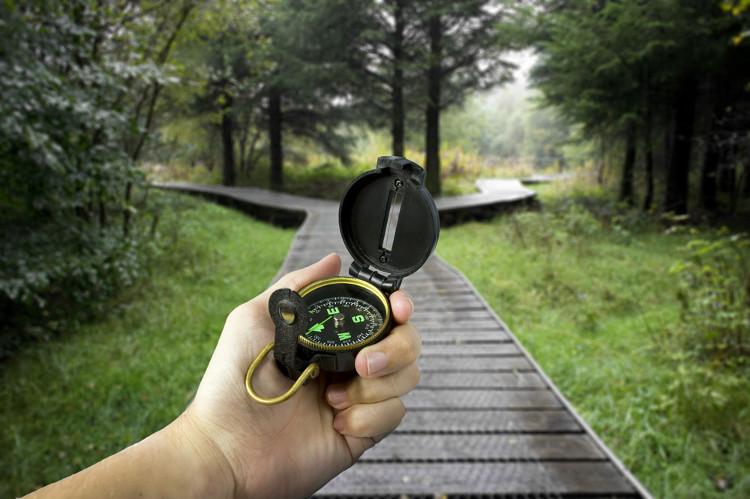 Khi bị lạc, trước hết hãy định phương hướng để tìm đường.