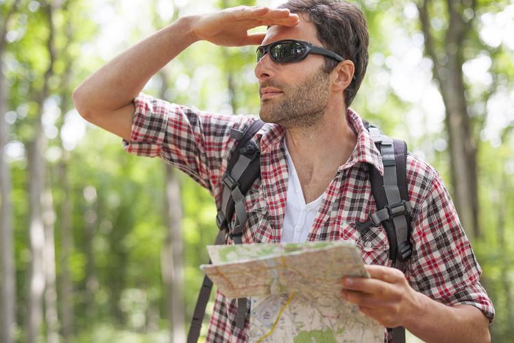 Nên có bản đồ khi đi vào rừng.